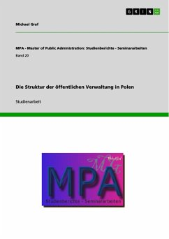 Die Struktur der öffentlichen Verwaltung in Polen (eBook, ePUB)
