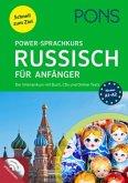 PONS Power-Sprachkurs Russisch für Anfänger. Buch, 2 Audio-CDs und Online-Tests. Niveau A1 bis A2