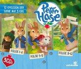Peter Hase Hörspielbox, 3 Audio-CDs