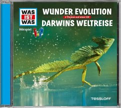 Wunder Evolution / Darwins Weltreise, 1 Audio-CD - Baur, Manfred