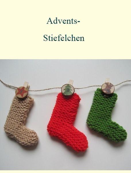 Strickanleitung Adventskalender (eBook, ePUB)