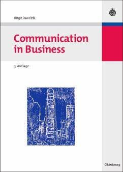 Communication in Business (eBook, PDF) - Pawelzik, Birgit