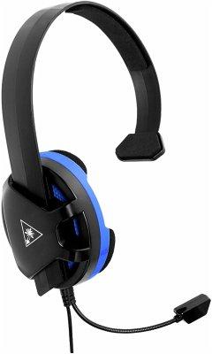 Turtle Beach Recon Chat für PS4 Schwarz/Blau Over-Ear Headset