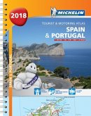 Spain & Portugal 2018 - Tourist and Motoring Atlas (A4-Spira