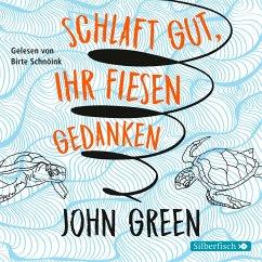 Schlaft gut, ihr fiesen Gedanken, 6 Audio-CDs - Green, John