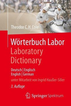 Wörterbuch Labor / Laboratory Dictionary - Cole, Theodor C. H.