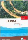 TERRA Geographie für Berlin und Brandenburg - Ausgabe für Gymnasien, Integrierte Sekundarschulen und Oberschulen. Arbeitsheft mit e-book 8. Schuljahr