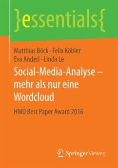 Social-Media-Analyse - mehr als nur eine Wordcloud