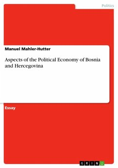Aspects of the Political Economy of Bosnia and Hercegovina (eBook, ePUB)