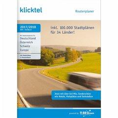 KlickTel Routenplaner 2017/2018 (Download für W...