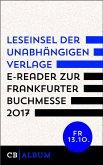 Leseinsel der unabhängigen Verlage - E-Reader für Freitag, 13. Oktober 2017 (eBook, ePUB)