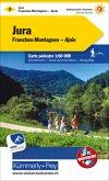 Kümmerly+Frey Karte Jura - Franches-Montagnes - Ajoie Wanderkarte