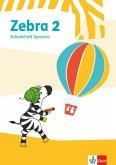 Zebra 2. Arbeitsheft Sprache