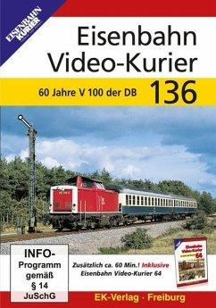 Eisenbahn Video-Kurier. Tl.136, 1 DVD-Video