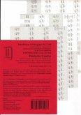 Schönfelder Griffregister Nr. 1286 (201/2018): 192 selbstklebende und bedruckte Griffregister für die Sammlung SCHÖNFELDER: Deutsche Gesetze, Hauptband