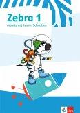 Zebra 1. Arbeitsheft Lesen/Schreiben