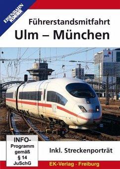 Führerstandsmitfahrt Ulm - München, 1 DVD-Video