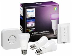 Philips Hue E27 White Color Amb Starter Set + B...