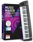 MAGIX Music Maker Premium Edition - 2018 Control Edition (USB-Keyboard und Musikprogramm)