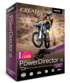 CREATE CyberLink PowerDirector 16 ULTIMATE SUITE - Die Nr. 1 für Video-Cutter