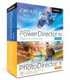 CREATE CyberLink PowerDirector 16 Ultra & PhotoDirector 9 Ultra Duo (Video- und Fotobearbeitung in einer Box!)