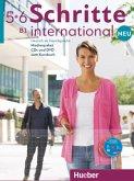 Medienpaket, Audio-CDs und DVD zum Kursbuch / Schritte international Neu - Deutsch als Fremdsprache .5+6