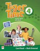 Tiger Time 4. Student's Book + ebook + Sticker + Online Resource Centre