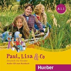 A1/1, Audio-CD zum Kursbuch / Paul, Lisa & Co - Bovermann, Monika; Georgiakaki, Manuela; Zschärlich, Renate