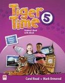 Tiger Time 5. Student's Book + ebook + Sticker + Online Resource Centre
