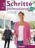Schritte international Neu 5. Kursbuch+Arbeitsbuch+CD zum Arbeitsbuch