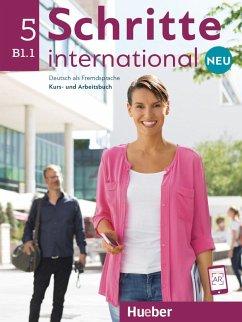Schritte international Neu 5. Kursbuch+Arbeitsbuch+CD zum Arbeitsbuch - Hilpert, Silke; Kerner, Marion; Orth-Chambah, Jutta; Pude, Angela; Schümann, Anja