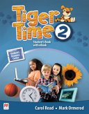Tiger Time 2. Student's Book + ebook + Sticker + Online Resource Centre