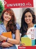 Universo.ele B2. / Kurs- und Arbeitsbuch mit Audios online