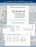 Excel til rapporter ...