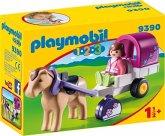 PLAYMOBIL® 1.2.3 9390 Pferdekutsche