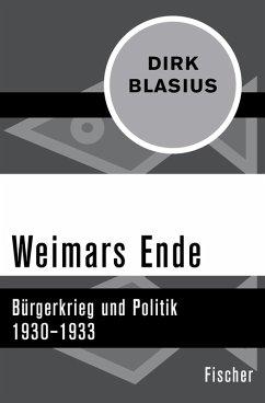 Weimars Ende (eBook, ePUB) - Blasius, Dirk