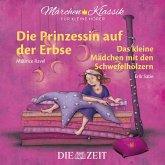 """Die ZEIT-Edition """"Märchen Klassik für kleine Hörer"""" - Die Prinzessin auf der Erbse und Das Mädchen mit den Schwefelhölzern mit Musik von Maurice Ravel und Erik Satie (MP3-Download)"""
