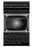 [POLITISCHE RAHMENBEDINGUNGEN] TOTALISIERTER STAATSWELT TOTALITÄRER GEDANKENREFORM