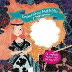 Krickel-Kratz-Malbilder. Prinzessinnen (Mängelexemplar)