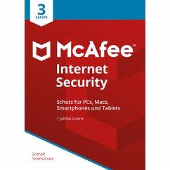 McAfee Internet Security 3 Geräte / 12 Monate (Download für Windows)