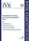 Düsseldorfer Vorträge zum Versicherungsrecht 2016 (eBook, PDF)