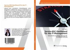 Service-BSC-Dashboard für das IT-Management