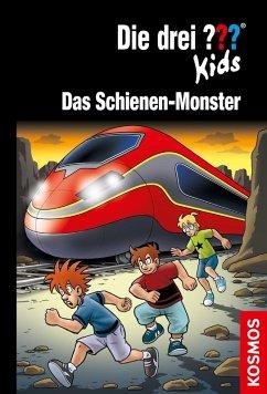 Das Schienen-Monster / Die drei Fragezeichen-Kids Bd.74 (eBook, ePUB) - Pfeiffer, Boris