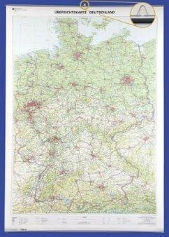 Übersichtskarte Deutschland 1 : 750 000, Planok...
