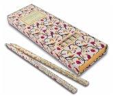 Insel Bücherei Bleistift-Set, 6 Bleistifte mit Zitaten