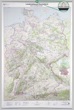 Landschaftskarte Deutschland 1 : 750 000, Plano...