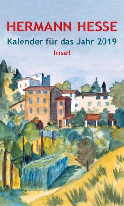 Insel-Kalender für das Jahr 2019