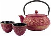 Bredemeijer Teekannen Geschenk- Set pinkgold inkl. Filter G015PG