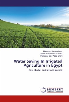 Water Saving In Irrigated Agriculture in Egypt