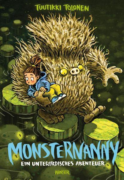 Buch-Reihe Monsternanny